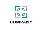 Logo, Quadrat, Winkel, Abstrakt, Bau, Technik