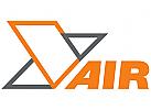 Abstraktes Vogel, geometrisches Vogel, Y-Logo