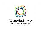 Medien Logo, Kreativ Logo