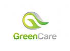 Grün Logo, Blatt Logo, Natur Logo, Umwelt, Logo