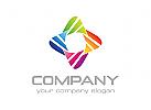 Gruppe Logo, Bunt Logo, Farbe Logo