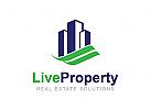 Immobilien Logo, Architektur Logo, Bau Logo