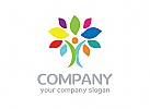 Baum Logo, Menschen Logo