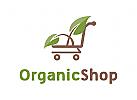 Natur Logo, Lebensmittel Logo