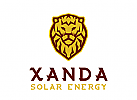 Löwe Logo, Sonne Logo