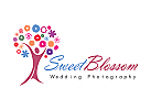 Baum Logo, Blumen Logo