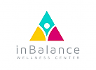 Gleichgewicht Logo, Dreieck Logo