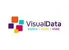 Technologie Logo, Daten Logo