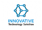 Würfel Logo, Technologie Logo, Daten Logo