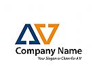 Logo Initiale A und V