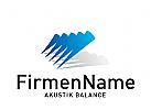 Logo abstrakt Akustik