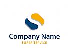 Logo Initial S