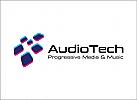 Musik Logo,Technologie Logo, Daten Logo