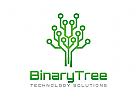Technologie Logo, Binär Logo, Biotechnologie Logo