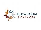 Gruppe Logo, Menschen Logo, Kinderarzt Logo, Psychologe Logo