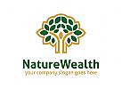 Baum Logo, Natur Logo