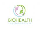 Blatt Logo, Natur Logo, Gesundheit Logo