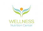 Ernährung Logo, Blatt Logo, Natur Logo
