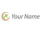 Zeichen, Skizze, Sport, Eine Person, Bewegung, Fitness, Logo