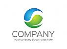 Natur Logo, Wasser Logo, Blatt Logo