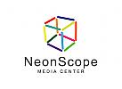 Medien Logo, Kommunikation Logo, Raum Logo