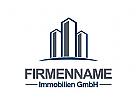 Ö, Immobilien Logo, Architektur Logo, Bau Logo