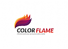 Ö Color Flame Logo