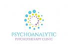 Psychoanalytik Logo, Psychotherapie Logo, Kreis Logo, Psychologie Logo