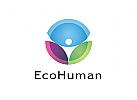 Zeichen, Signet, Logo, Mensch, Ecology, Energie, Umwelt