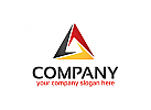 Dreieck Logo, Technologie Logo