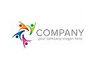 Gruppe Logo, Menschen Logo