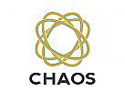 Oval, Chaos, Logo