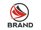 Abstraktes Vögel Logo