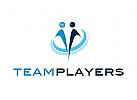 Ö, Zeichen, Signet, Logo, Coaching, Schule, Bildung, Menschen, team, Gruppe, Duo