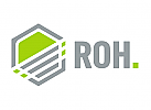 Sechseck Logo, Romb,