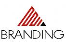 Dreieck Pyramide, Labyrinth Logo