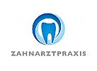 Zähne, Zahnärzte, Zahnarztpraxis, Zahnarzt, Zahn, Logo, Kreislauf