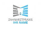 Zähne, Zahnärzte, Zahnarztpraxis, Zahnarzt, Zahn, Logo, Balken