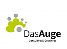 Logo Gruppe mit Auge, Consulting, Coaching, das Auge,