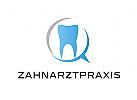 Zähne, Zahnärzte, Zahnarztpraxis, Zahnarzt, Zahn, Logo, Sprechblase
