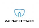 Zähne, Zahnärzte, Zahnarztpraxis, Zahnarzt, Zahn, Logo, Abstrakt