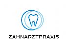 Zähne, Zahnärzte, Zahnarztpraxis, Zahnarzt, Zahn, Logo, Kreise