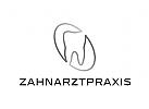 Zähne, Zahnärzte, Zahnarztpraxis, Zahnarzt, Zahn, Logo, Segmente