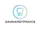 Zähne, Zahnärzte, Zahnarztpraxis, Zahnarzt, Zahn, Logo, Linien