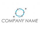 Öko, Zeichen, Skizze, Signet, Universum, Netzwerk, Logo