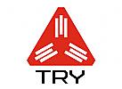 Abstrakte Triangle Logo