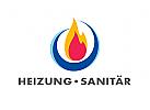 Zeichen, Signet, Logo, Heizung, Sanitär