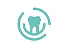 Zähne, Zahnärzte, Zahnarztpraxis, Zahnarzt, Zahn, Logo, Ringe
