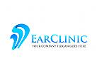 Ohr Logo, Hören Logo, Arzt Logo