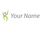 Zeichen, X, Person in Bewegung, Logo